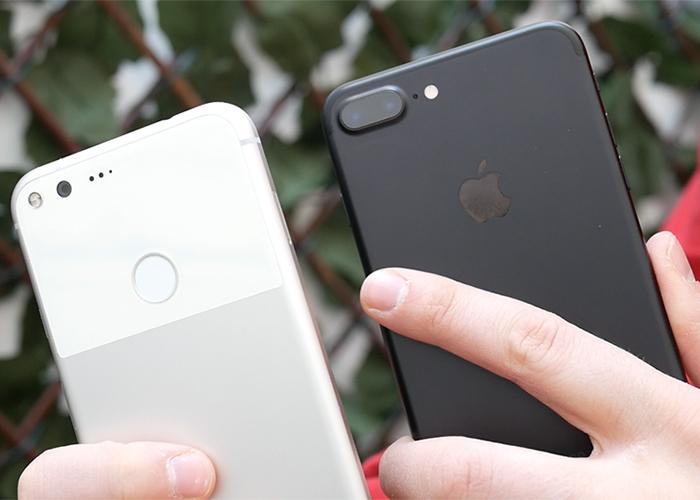 Google-Pixel-XL-vs-iphone-7-Plus-comparativa-a-fondo-imagen-destacada