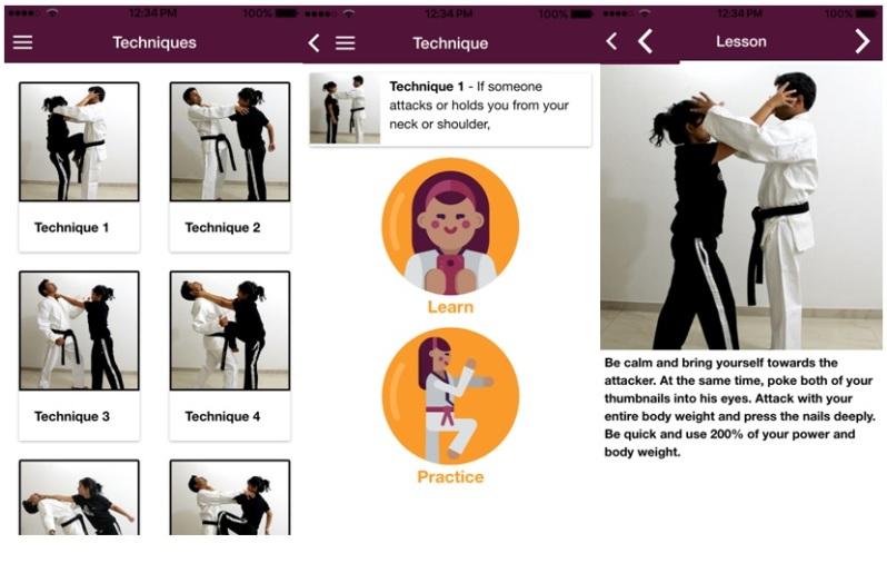 Resultado de imagen para quick Self-defense app