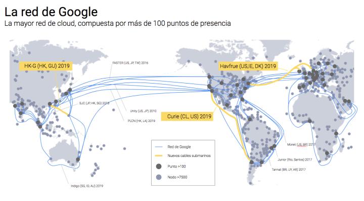 Esto es Google: Cable Submarino Curie: una conexión excepcional ...